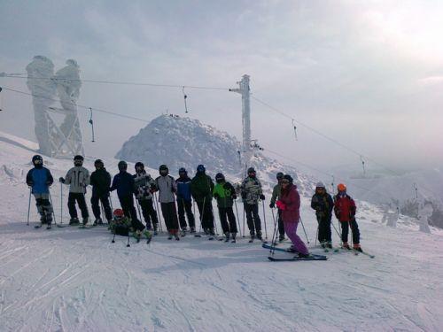 Lyžiarsky výcvik 2012- JASNÁ - 10
