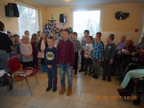 Vianočné vystúpenie 14. 12. 2017