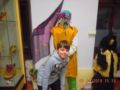 Výstava masiek - 7. oddelenie